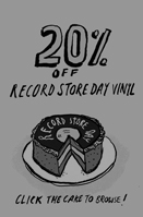 20% Record Store Day 2017 Discount